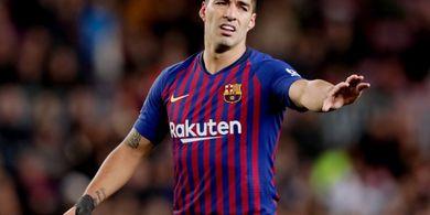 Suarez 25 Jam Mandul pada Laga Tandang Barcelona di Liga Champions