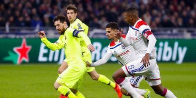 Olympique Lyon Vs Barcelona 0-0