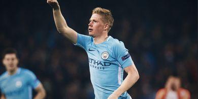 Manchester City Quadruple, De Bruyne Sebut Hampir Mustahil Terwujud