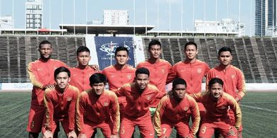 Marinus Wanewar Bawa Timnas U-22 Indonesia ke Semifinal Piala AFF U-22