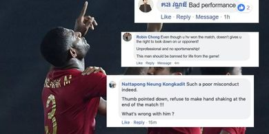Fans Kamboja Tulis Komentar Negatif Soal Marinus Wanewar di Media Sosial