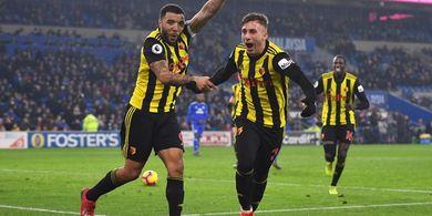 Link Live Streaming Watford vs Tottenham Hotspur, Ancaman Trio D