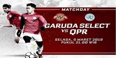 NONTON - Gol Spektakuler Garuda Select Saat Hempaskan QPR