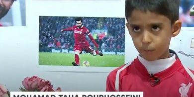 VIDEO - Aksi Bocah Asal Iran Tirukan Aksi Mohamed Salah di Iklan
