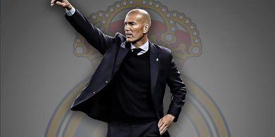 Ibarat Sepasang Kekasih, Zidane dan Real Madrid adalah Pasangan Serasi