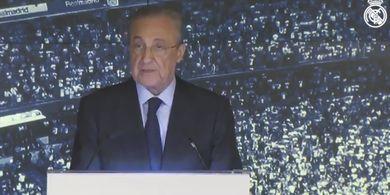 RESMI - Tanpa Perlawanan, Florentino Perez Jadi Presiden Real Madrid Lagi hingga 2025