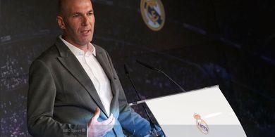 Zinedine Zidane Umumkan Skuat Pertamanya, Sang Anak Dipanggil