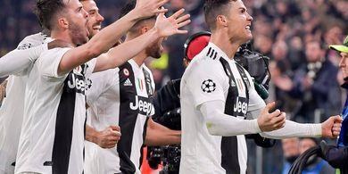 UEFA Nyatakan Ronaldo Bersalah atas Selebrasi Tak Sopannya Lawan Atletico