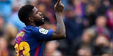 Umtiti Akui Terima Tawaran dari Mantan Klub untuk Tinggalkan Barcelona