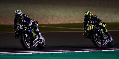 Performa Suzuki pada MotoGP Qatar Disanjung Seorang Valentino Rossi