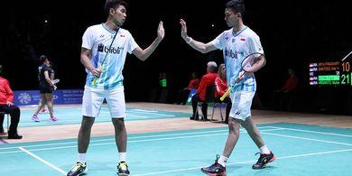 Hasil Kejuaraan Beregu Campuran Asia 2019 - Fajar/Rian Menang, Indonesia Unggul 1-0 atas Thailand