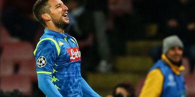 Liga Europa - Mertens: Jika Tak Menang Lawan Arsenal, maka Napoli...