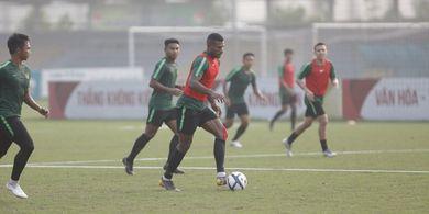 Timnas U-23 Indonesia Vs Vietnam - Langit di Atas Medan Laga Bakal Diselubungi Awan