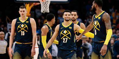 Hasil NBA 2018-2019 - Tundukkan Celtics, Nuggets Amankan Tiket Playoff