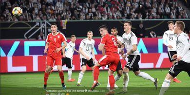 Serbia Imbangi Jerman, Striker Incaran Barcelona Jinakkan Neuer