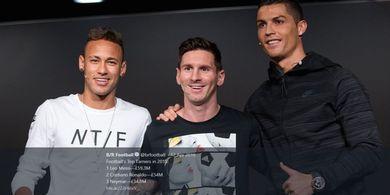 3 Klub yang Gagal Satukan Lionel Messi dan Cristiano Ronaldo