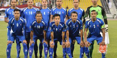 Bersama Pemain Persija, Timnas Nepal Tahan Kuwait pada FIFA Match Day
