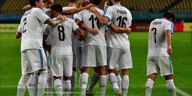 Timnas Thailand Jumpa Uruguay pada Final China Cup 2019