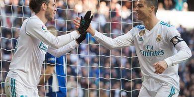 Disebut Tak Akur dengan Cristiano Ronaldo, Gareth Bale Angkat Bicara