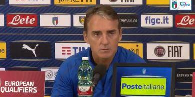 Mancini Masih Belum Pasang Target Meski Italia Tampil Sempurna
