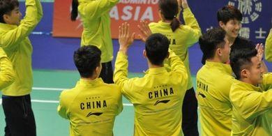 Kejuaraan Beregu Campuran Asia 2019 - China Hadapi Jepang pada Partai Final