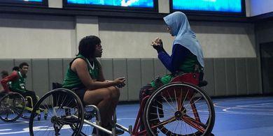 Tim Basket Kursi Roda Putri Indonesia Ikuti Turnamen di Thailand