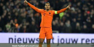 Susunan Pemain Belanda Vs Jerman - Menanti Gol Ke-4 Van Dijk