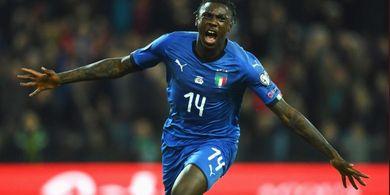 Moise Kean Muncul, Andrea Pirlo Minta Mario Balotelli Lupakan Timnas Italia