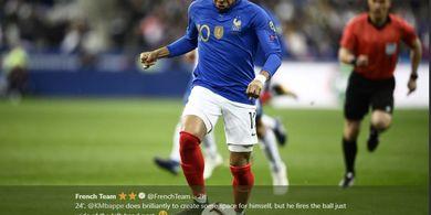 Hasil Kualifikasi Piala Eropa 2020 - Mbappe Cemerlang, Prancis Gulung Islandia