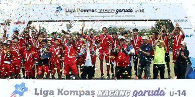 Liga Kompas Kacang Garuda U-14, Perkembangan Atlet Jadi Berkah Utama