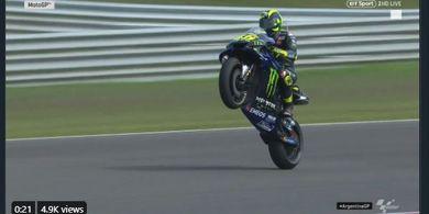 Bukan Treknya Yamaha, Valentino Rossi Ungkap Kebaikan Sirkuit Austria