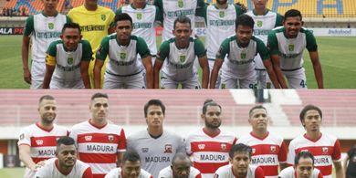 Madura United Siap Patahkan Catatan Buruk di Markas Persebaya Surabaya