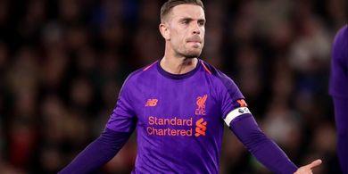 Jordan Henderson Tolak Ban Kapten dari Virgil van Dijk Saat Laga Kontra Southampton