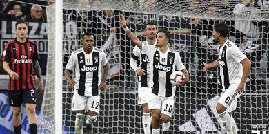 Juventus Bisa Menang 2 Gelar Serie A Hari Ini