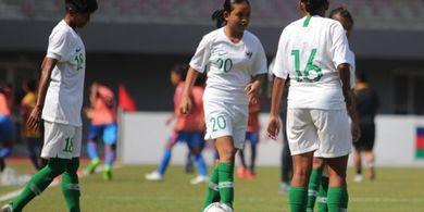 Timnas Putri Indonesia Petik Kemenangan atas Kamboja di Piala AFF 2019