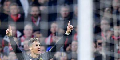 Malam Paskah Ini, Cristiano Ronaldo Jadi Penakluk Pertama 3 Liga Paling Top Eropa