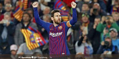 Lionel Messi Menuju Rekor 600 Gol untuk Barcelona Pekan Ini