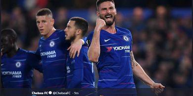 Hasil Liga Europa, Chelsea Lolos ke Semifinal Sambil Deg-degan