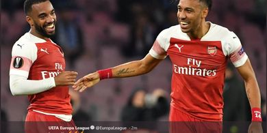 Hasil Liga Europa - Sepakan Bebas Bawa Arsenal Lolos ke Semifinal