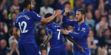 Hasil Liga Inggris - Hujan 4 Gol dalam 13 Menit, Chelsea Menjauh dari Man United