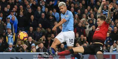 Susunan Pemain Man United Vs Man City - Pertahanan Terburuk dalam 21 Tahun