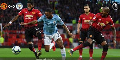 Hasil Derbi Manchester - Para Pemain Man United Hanya Jalan di Lapangan!