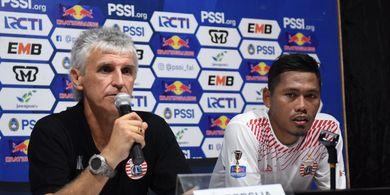 Tony Sucipto Ingin Balas Kekalahan Persija dari Bali United di Jakarta