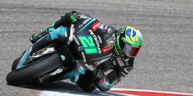 Tes MotoGP Valencia - Sampai Tengah Hari, Franco Morbidelli Tercepat