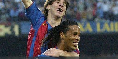 Messi yang Terbaik Dunia, Ronaldinho Ternyata Menolaknya! Begini Kata dia