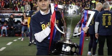 Valverde Kembali Mendapat Dukungan Langsung dari Presiden Barcelona
