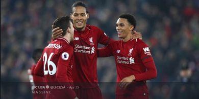 Bukti Pujian Van Dijk kepada Bek Liverpool yang Tidak Asal Ceplos