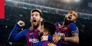 Susunan Pemain Eibar Vs Barcelona - Laga Penutup Musim Sang Juara