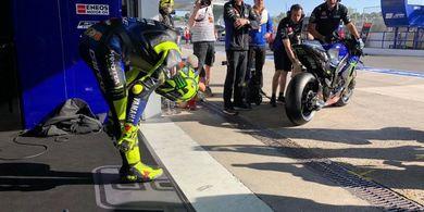 Yamaha Sebut Rossi dan Vinales Alami Nasib Sial pada Paruh pertama