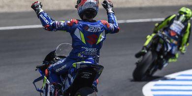 Alex Rins Akui Beruntung Bisa Finis 10 Besar pada MotoGP Prancis 2019
